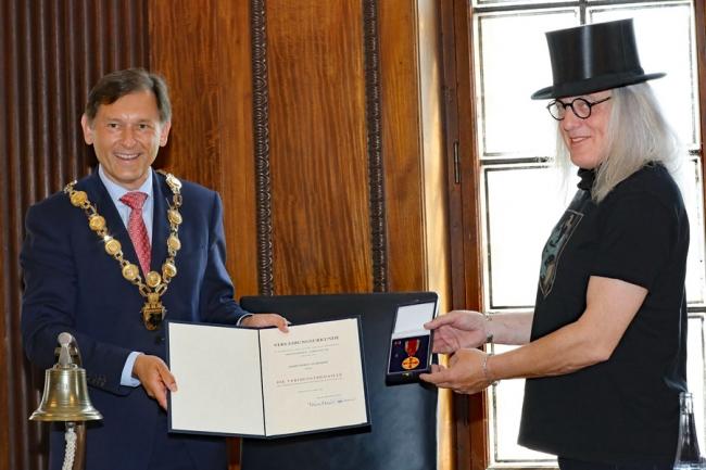 Bundesverdienstkreuz für Graf Hotte